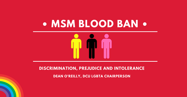 DCU LGBTA Society Chairperson Explains Ireland's MSM Blood Ban and Why It Matters