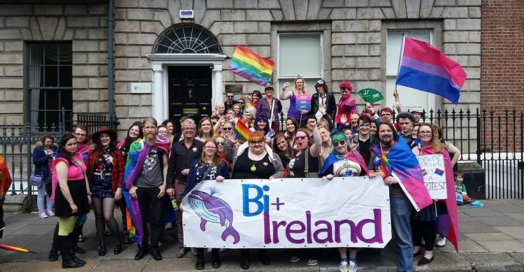 Sharon Nolan of Bi+ Ireland reflects on her experiences of biphobia and the importance of bi visibility
