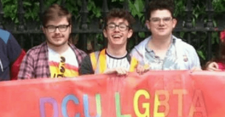 Don't be afraid to search for your tribe: Chairperson of DCU LGBTA Dean O'Reilly gives advice on being LGBTQ+ at college