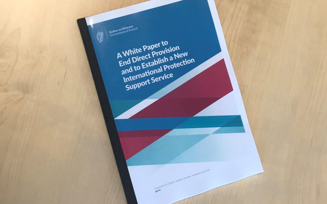 LGBT Ireland welcomes White Paper to end Direct Provision.