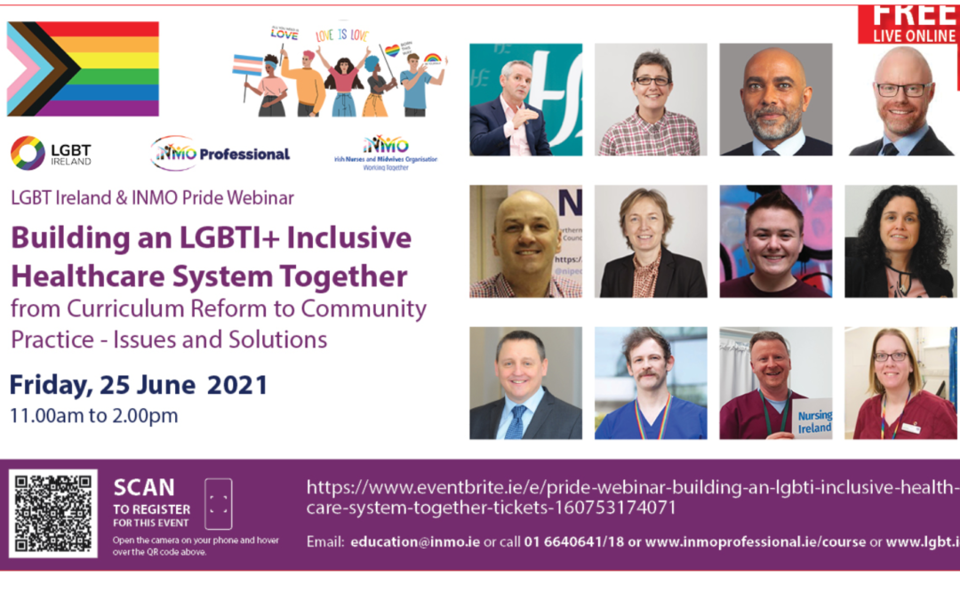 Pride in Practice – LGBT Ireland Championing Inclusive Healthcare Systems.