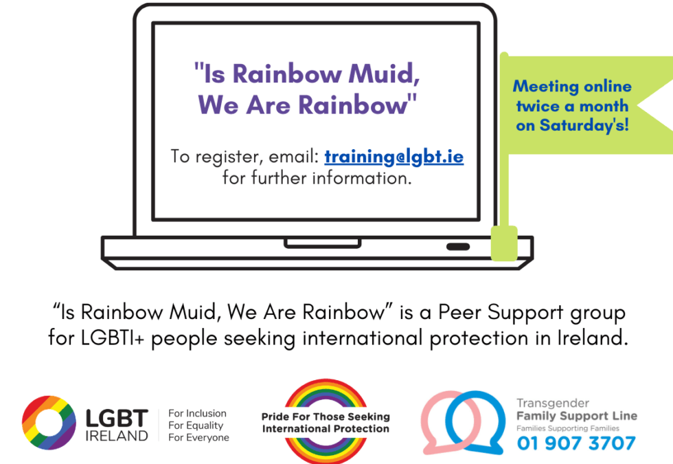 LGBT Ireland marks World Refugee Day with Animation Launch and Webinar