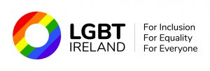 lgbt ireland organisation logo on white