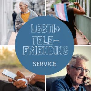 LGBT Ireland tele-friending service promotion