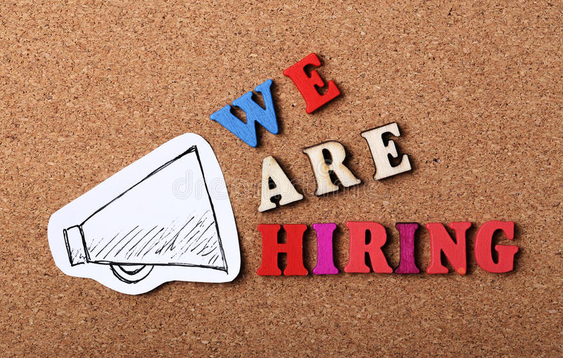 We Are Hiring – Apply Now!